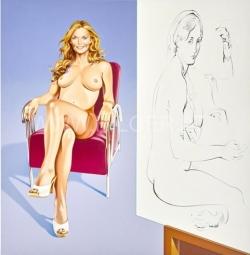 <strong>Mel Ramos</strong> Drawing Lesson