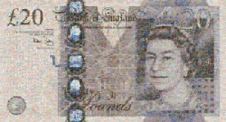 <strong>Robert Silvers</strong> 20 Pound NOTE
