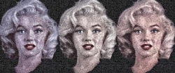 <strong>Robert Silvers</strong> Triple Marilyn