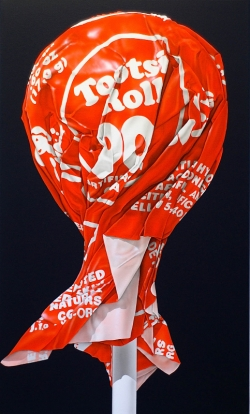 <strong>Peter and Madeline Powell</strong>Orange Tootsie Pop